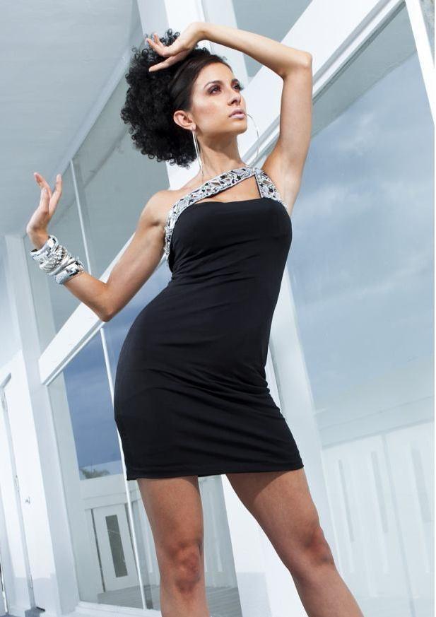 Her Zaman Kurtarıcı Mini Siyah Elbise